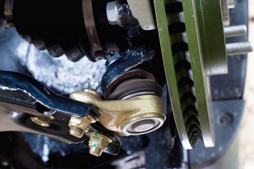 ball bearing car suspension